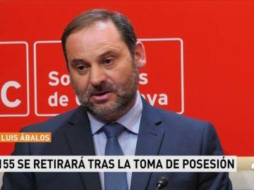 """Ábalos aconseja a Torra que sea """"autónomo"""" y se """"desprograme"""" de """"xenofobia"""""""