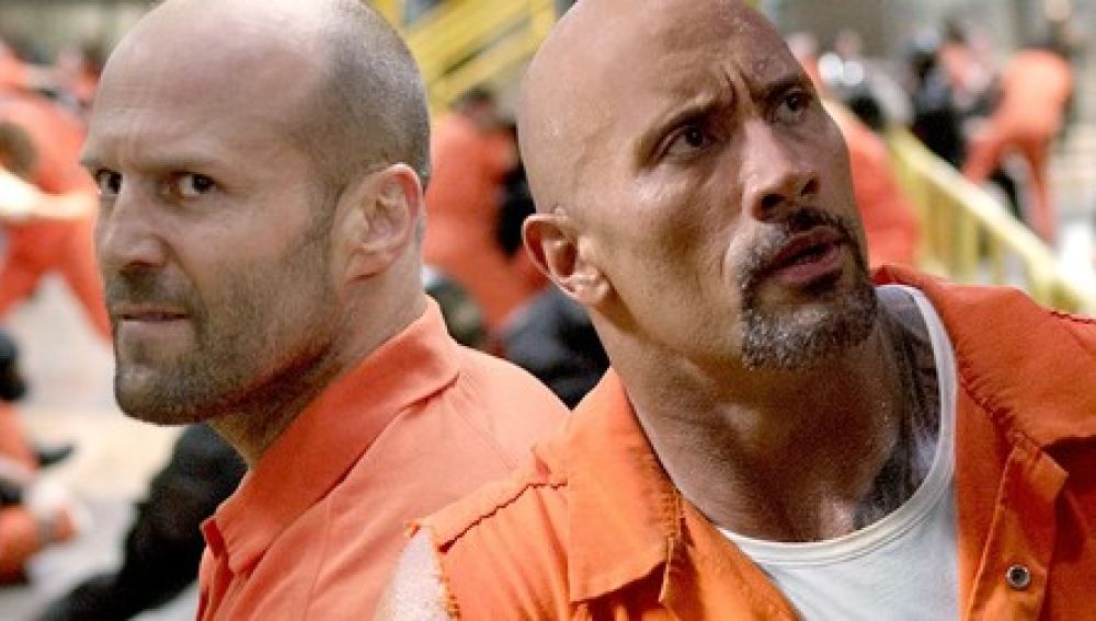 Jason Statham y Dwayne Johnson, protagonistas del spin-off de 'Fast and Furious'