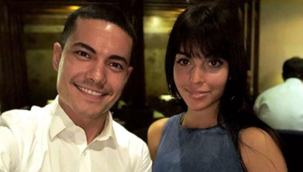Georgina Rodríguez junto a uno de sus compañeros