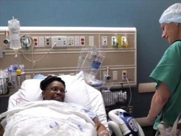 Kendra tras ser operada