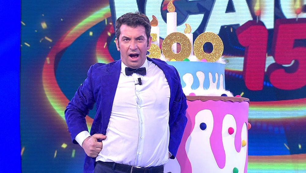 La hilarante versión de 'Lo malo' interpretada por Arturo Valls que nadie podría igualar