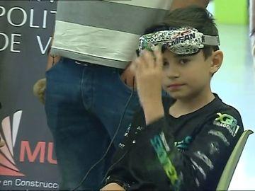 Un español de diez años entre los mejores pilotos de drones
