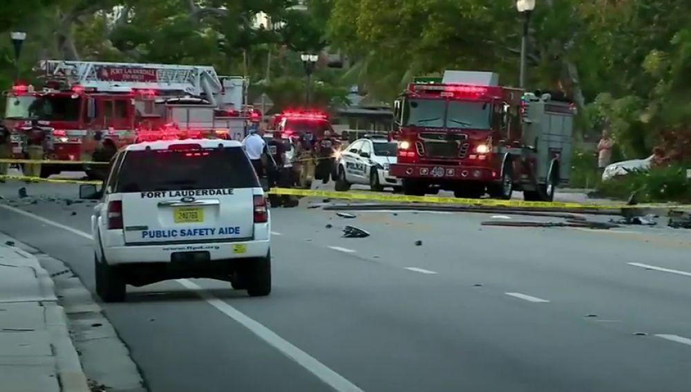 Teslas involucrada en un accidente mortal en Florida