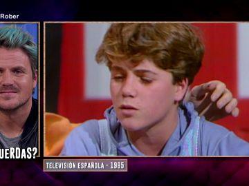 Los imágenes del tierno pasado televisivo de Dani Martín