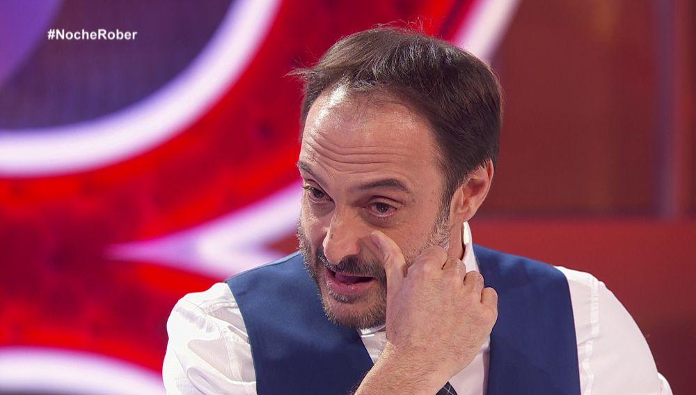 Las lágrimas de emoción de Roberto Vilar tras estrenar su nuevo programa en Antena 3