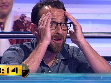 El imperdonable fallo de un concursante en el programa 1.500 de '¡Ahora Caigo!'