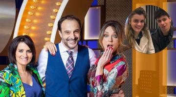 Las reacciones de Robeto Vilar, Silvia Abril y Anna Simon tras conocer a Amaia y Alfred