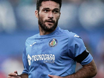 El jugador del Getafe, Jorge Molina
