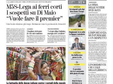 Entrevista a Carles Puigdemont en 'La Stampa'