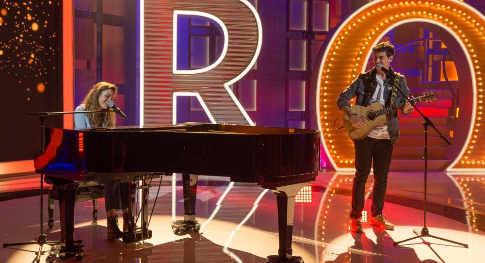 Amaia y Alfred interpretan 'Tu Canción', la canción de Eurovisión, en 'La noche de Rober'