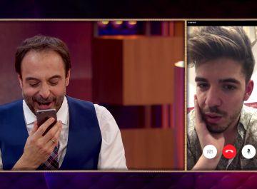 La hilarante broma telefónica de Amaia y Alfred a su amigo Roi