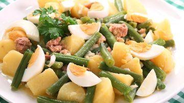 Cocina con Carmen - Ensalada Campera con Judías Verdes o Ejotes