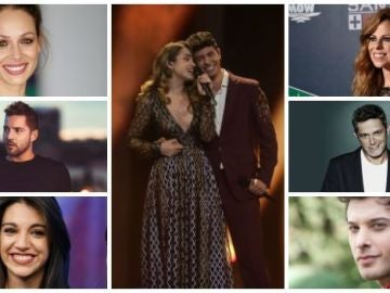 Los famosos apoyan a Amaia y Alfred tras su actuación en Eurovisión