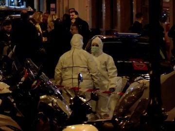 Escena del ataque en París