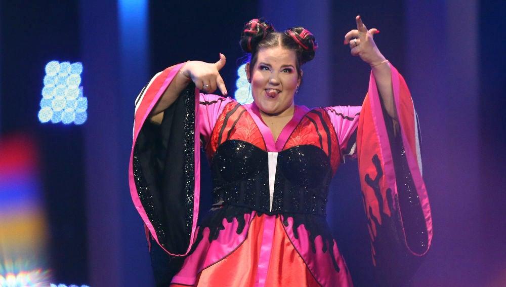 Netta Barzilai, ganadora de Eurovisión 2018 representando a Israel