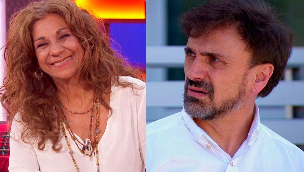 'La noche de Rober' vive un segundo programa desternillante con Lolita Flores y José Mota