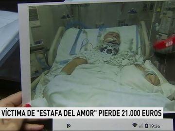 """Una víctima de """"estafa del amor"""" pierde 21.000 euros"""