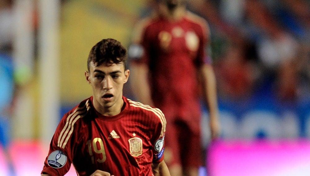 Munir, en su debut con la selección española