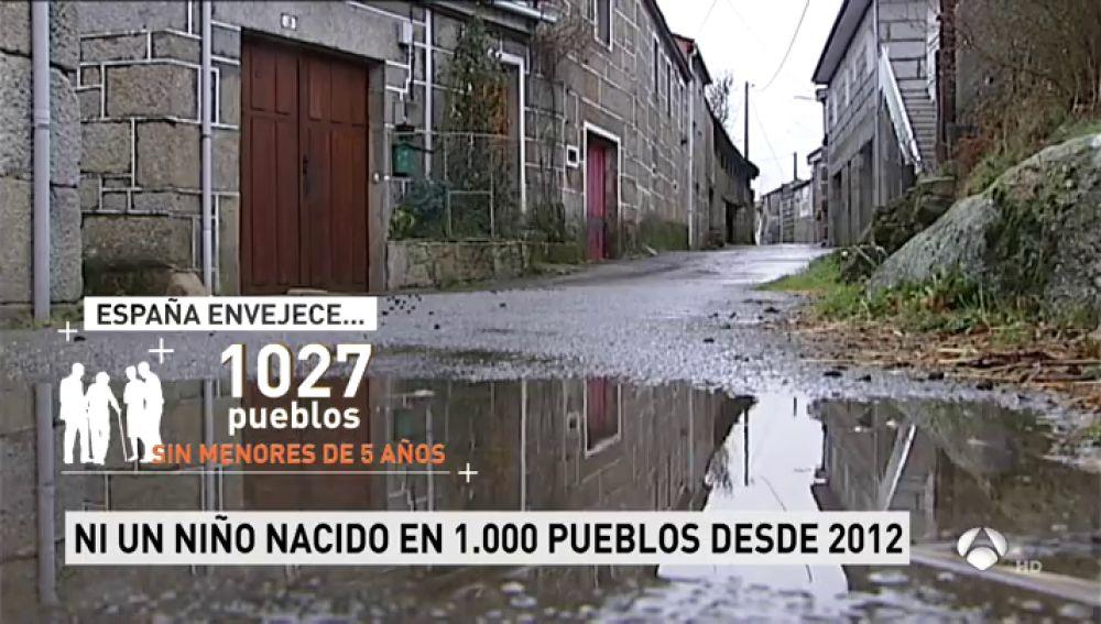 Hay más de mil pueblos en España en los que no ha nacido ningún niño desde 2012