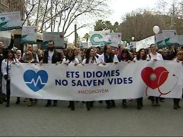 El 80% de los sanitarios de las Islas Baleares ha suspendido el examen de catalán