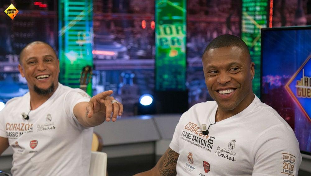 """Julio Baptista, sobre Roberto Carlos: """"Se ha dejado un poquito"""""""