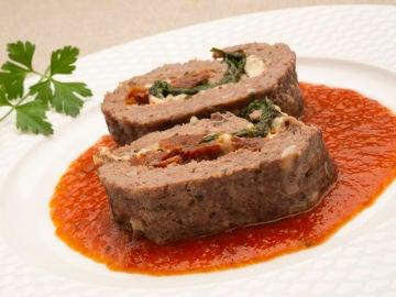 Pastel de carne picada, una receta de Karlos Arguiñano