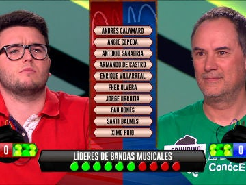 Erundino, de 'Los Lobos', y Martín, de 'Els Calents', se la juegan en la pregunta de desempate de la bomba estratégica