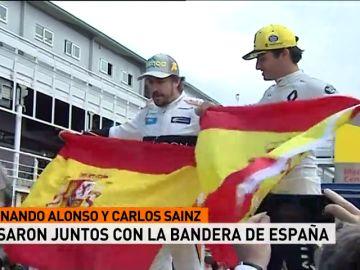 'Els Segadors' duró más del doble que el himno de España antes de la carrera en Montmeló