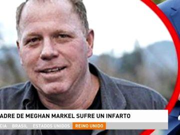 El padre de Meghan Markle no asistirá a la boda de su hija con el Príncipe Harry tras sufrir un infarto