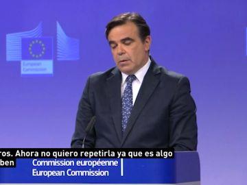 Portavoz principal de la Comisión Europea, Margaritis Schinas.