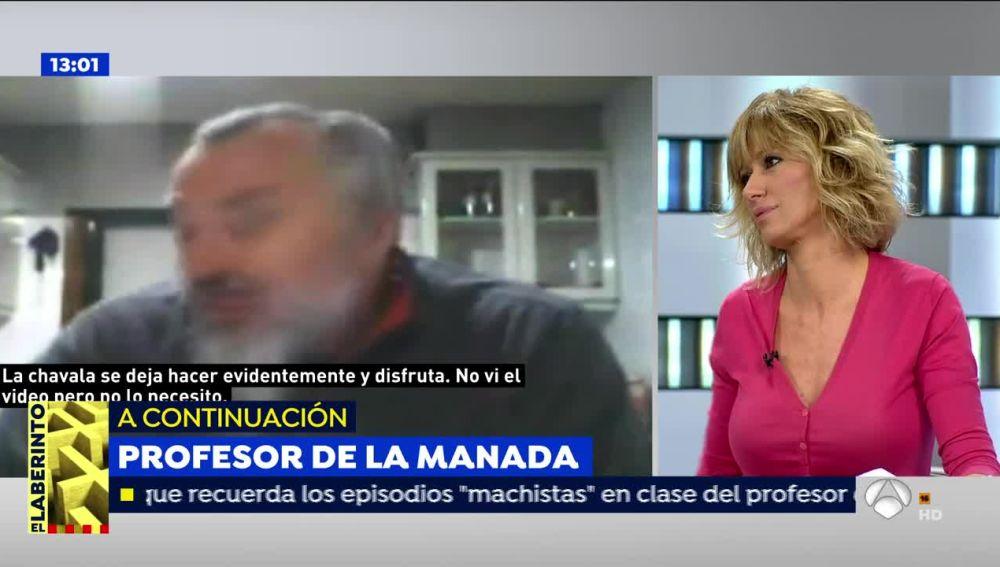 Susanna Griso y Elisa Beni responden al profesor que defiende a 'La Manada'