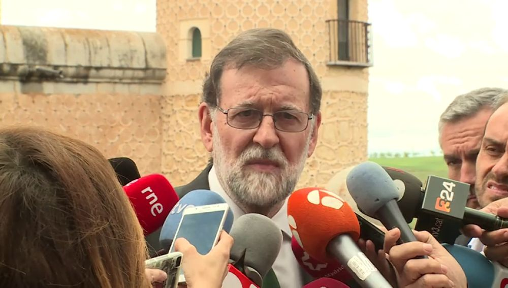 Mariano Rajoy ofrece entendimiento a Quim Torra siempre que cumpla la ley y la Constitución