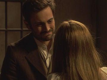 Julieta recibe la visita de Saúl