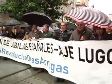 Los pensionistas vuelven a salir a las calles de varias ciudades españolas para exigir pensiones dignas