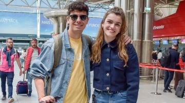 Alfred y Amaia en su regreso tras Eurovisión