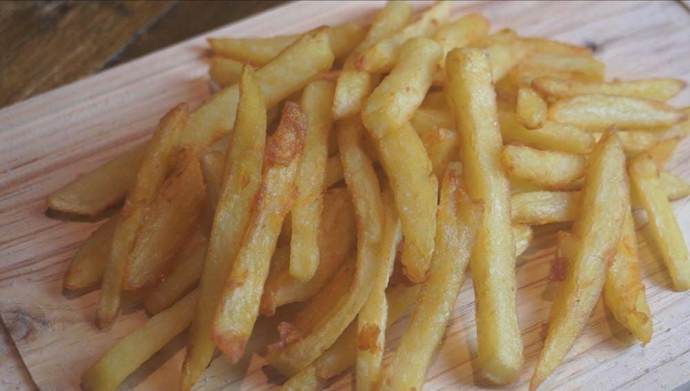 Tus patatas fritas, siempre perfectas.