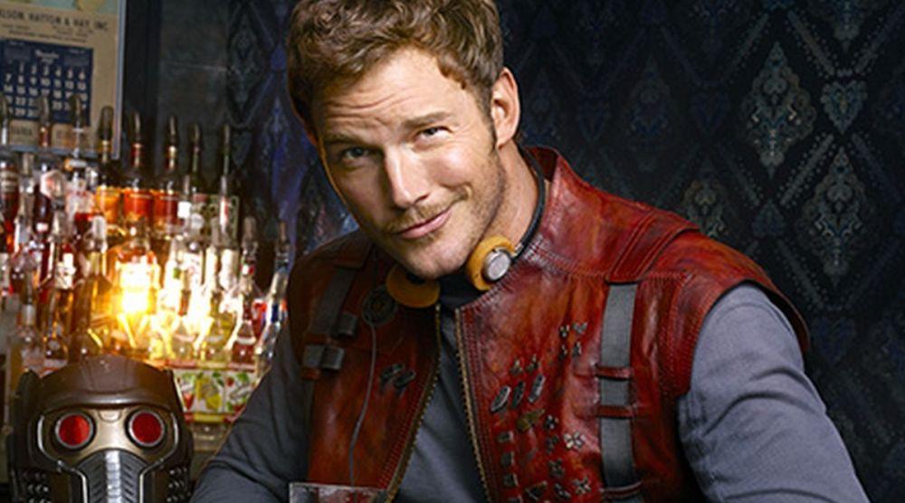 Chris Pratt como Star-Lord