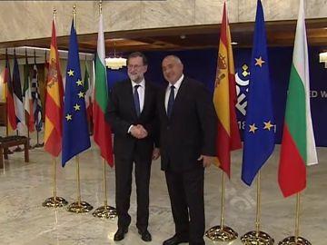 Rajoy, en Sofía para reunirse con Borisov y asistir a la cena de líderes de la UE