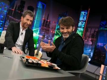"""Pablo Motos pide """"el mejor sushi"""" para Fernando Tejero"""