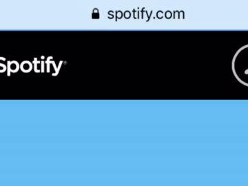 Anuncio de Spotify