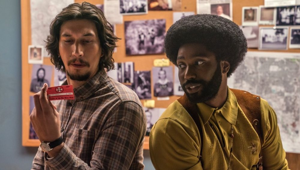Adam Driver y John David Washington 'BlacKkKlansman'