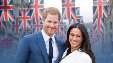 Boda real: Meghan Markle el príncipe Harry