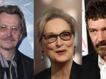 Gary Oldman, Meryl Streep y Antonio Banderas