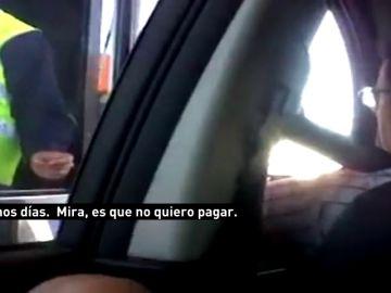 "Quim Torra se saltó un peaje en 2012 en Vilassar: ""No voy a pagar"""