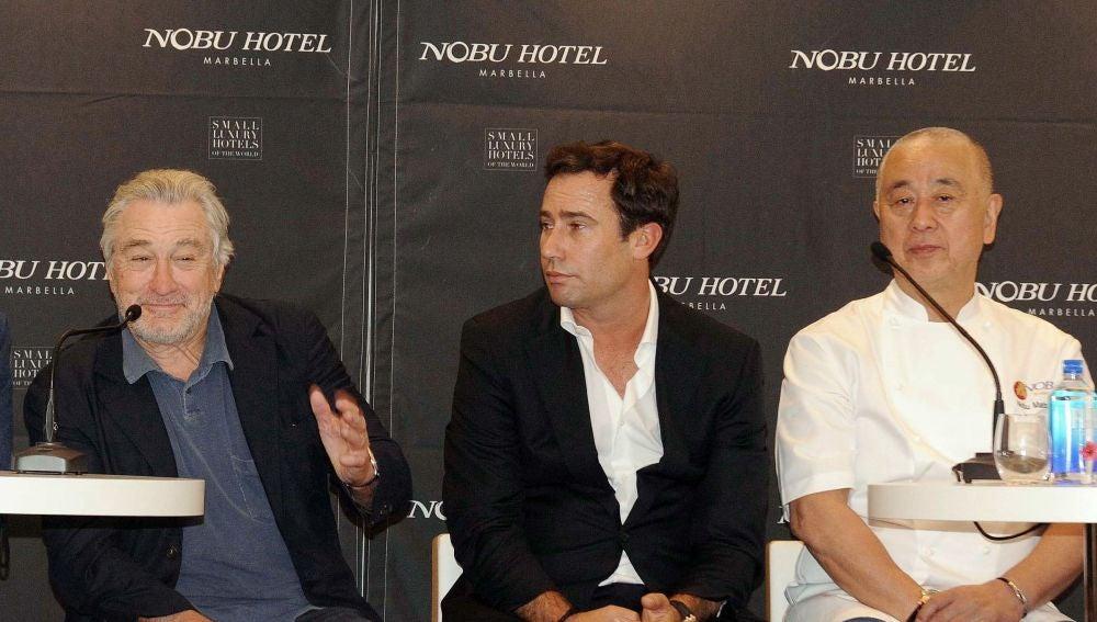 El actor y director Robert de Niro