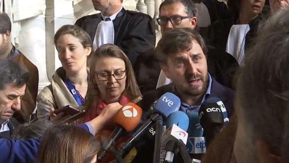 """La Fiscalía belga rechaza la entrega a España de los exconsejeros Comín, Serret y Puig por """"defectos de forma"""""""