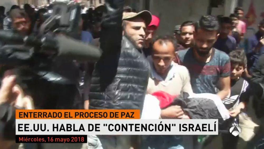 """EEUU defiende que ha actuado con """"contención"""" ante las protestas en Gaza"""