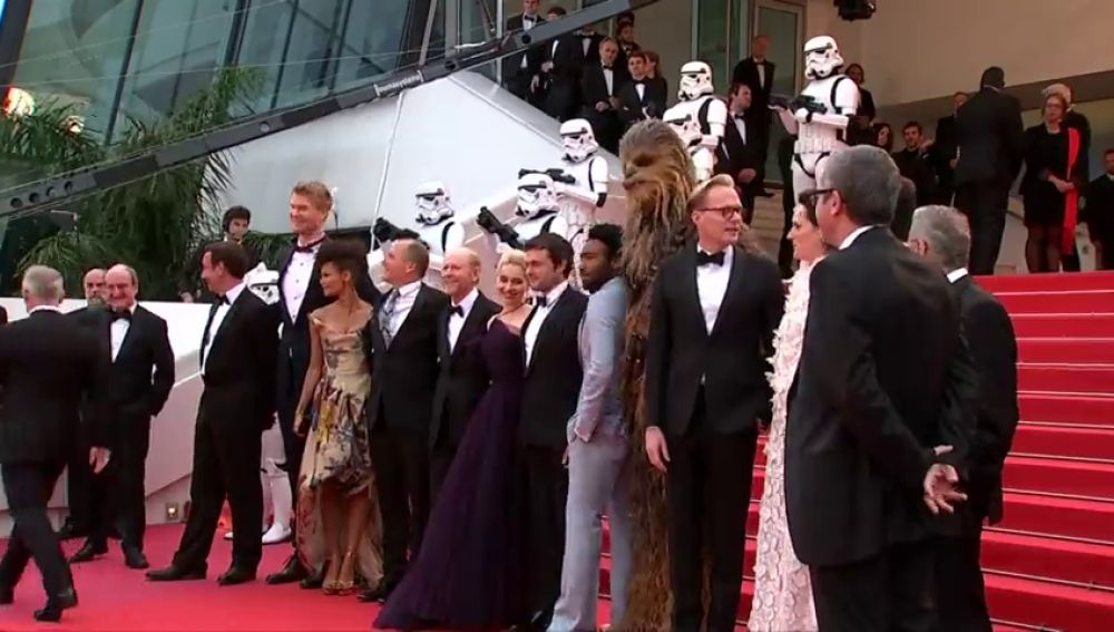 """""""Solo: A Star Wars Story"""" llega a Cannes"""