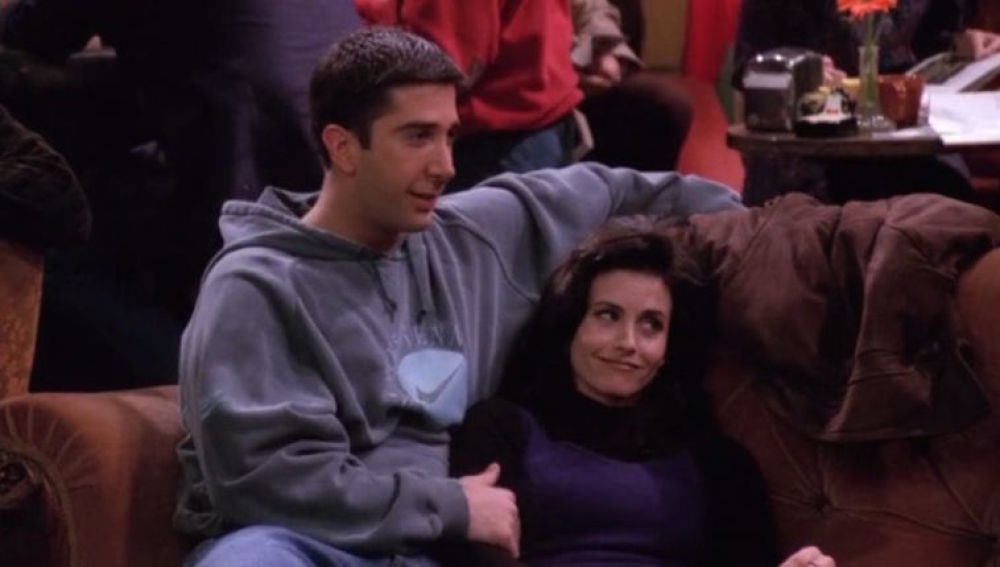 Ross y Monica en 'Friends'
