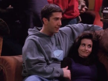Ross y Monica en 'Friends'